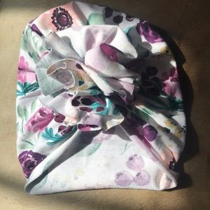 Other - Gorgeous Handmade Floral Ruffle newborn turban